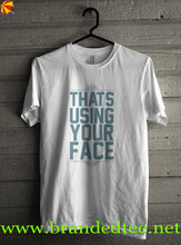 sound t-shirt 100% cotton for redid articles of clothing