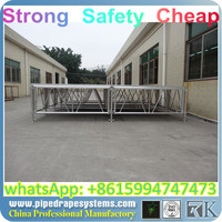 Inflatable Exhibitionstage/plexiglass stage/small stage