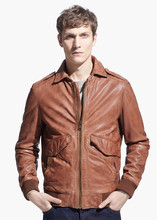 Brown Fashion Leather Jacket / Leather Garments in Pakistan