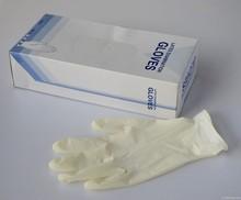 Cheap disposable powder free vinyl gloves/disposable latex exam gloves