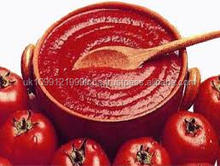 Canned tomato paste in good quality and great taste
