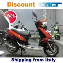 (Discount) 2015 new cheap gas scooter for sale low cost 49cc EEC COC new design (Gatto)