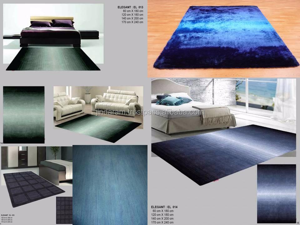 Pure viscose cut pile multipurpose carpets.JPG