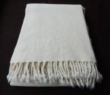 "Luxury lightweight merino blanket ""Ivanna"""