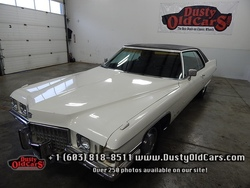 1971 Cadillac Coupe Deville Runs Drives Steers Stops Good Overall Car - See more at: www.dustyoldcars.com