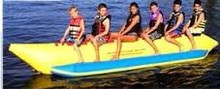 6 Passenger-Seat Banana Boat Inflatable Raft - Commercial Grade