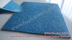 EPDM Rubber Playground Roll (sports floor)/Quality rubber flooring