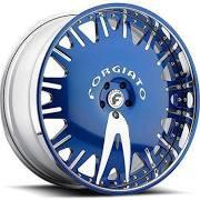 Forgiato Wheels Rims Enzo-L Blue Chrome .. 26inch 5x130