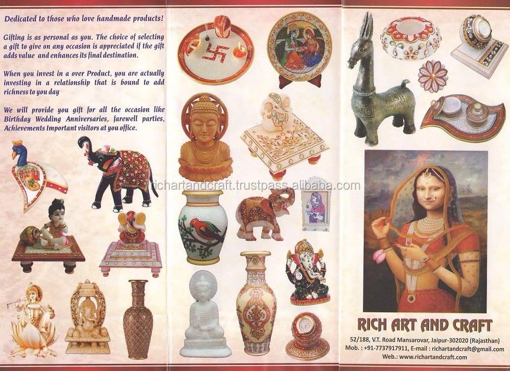 Rich Art And Craft Handicraft Manufacturer Jaipur Rajasthan INDIA +917737917911 Marble Wooden.jpg
