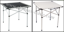 Modern Folding Aluminum Camping Tables 70*70*70CM