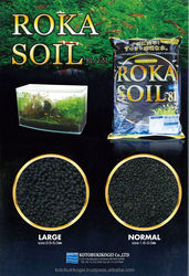 Live Fish Farm ROKA SOIL Black for Aquarium Plants