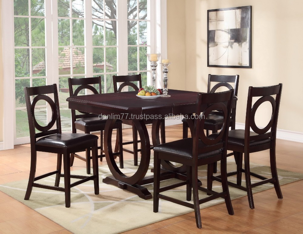Solid wood dining set & American style solid wood dining set & classi...