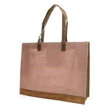 custom made jute bag with zipper
