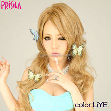 Synthetic easy to attach carnival wig , available in 1000 varieties of wigs