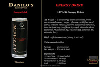Attack Energy Drink Fast Moving European Product