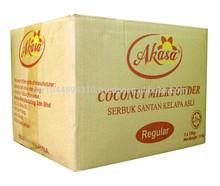 La leche de coco en polvo( regular)
