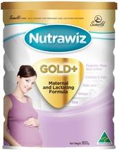 Nutrawiz Gold + Maternal & Lactating Formula Australian made