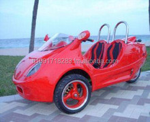 EPA&DOT APPROVED Scooter Coupe 150cc Gas Scooter trike