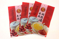3 side seal bag for chinese herbal soup series,general health care soup material,food grade body care chinese herb pack