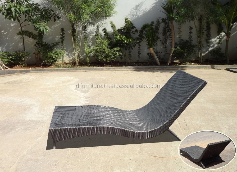 High quality outdoor pool bed garden sun bed patio bed for Outdoor pool bed