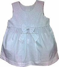 Infant Baby Girl Clothes Dress - Girls 2pc Panty Set Off White Woven