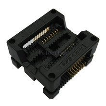Factory Supply SOP-16(28)-1.27 Universal SOP SOP16 SOP28 IC Programmer Test Socket Adapter 1.27mm Pitch 16 Pin Top Quality