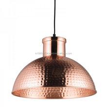 Copper Hammered Restaurant Decorative Pendant Lamp