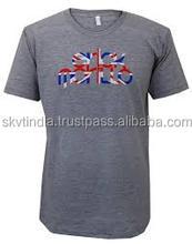 organic cotton international make to order branded t shirt