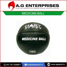 Leather/Rubber Medicine Balls for Body Exercise