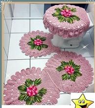 Bathroom game crocheted
