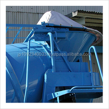Japan-made cement mixer cover to prevent foreign contaminants