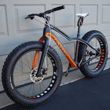 9:ZERO:7 Whiteout Carbon Nome Snow Fat Bike