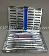 Sterilization Cassette Silicone Inserts for 10 Instruments Orthodontic Implant Instruments/best quality by taidoc