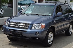 Used Toyota Highlander LIMITED 4X4 Pick Up - Left Hand Drive - Stock no: 13416