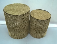 Very nice seagrass laundry baskets