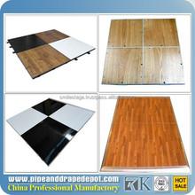 China manufacturer cheap Portable dance floor wood look ceramic floor tile