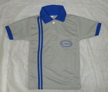 Top Quality Cotton Opposite Collar T-shirt / Boys Uniform Tshirt