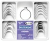 "Dental Pony Contoured Matrices 24 pcs with ""Slot"" Dental Ring Tor VM"