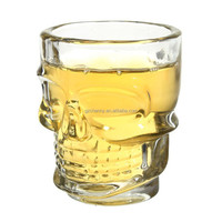 NEW Mini Crystal Skull Head Cup Vodka Shot Glass Whiskey Drink Ware For Home Bar