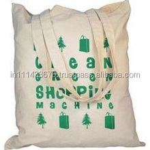 2015 Factory Good Quality 100% Coton Bag With Long Handle/Printed Coton Bag With Long Handle/Custom Printed Coton Bag With Long