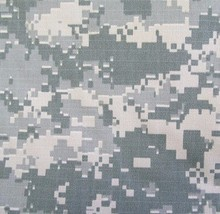 ACU Universal Camoulflage Nylon Cotton Ripstop Fabric 66 inch 40 to 50 cents/yard