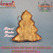 Wooden Christmas Ornaments With Natural Stems Bark - mini christmas tree christmas wood christmas item