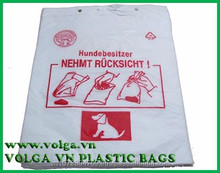 Dog poop bags from Vietnam