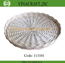 Nice bamboo plate for dried fruit