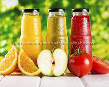 orange juice in glass bottle 200 ml very low price high purity , Natural