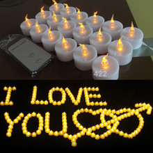 Backto20s Flameless LED Tealight Candles with Remote Control , 18 Pack