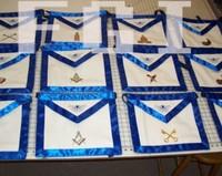Masonic Regalia Apron Badge, Apron, Sash, Collar, Gloves