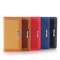 New arrival jean pattern stand flip wallet leather case with credit card holder protective phone cover for iphone6/for iphone 6s