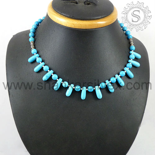 925 Silver Jewelry, Indian Silver Jewelry, Unique Silver Jewelry Necklace NKCB1001-2