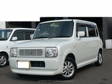 Good Condition Good looking suzuki Alto Lapin 2002 used car low price made in Japan